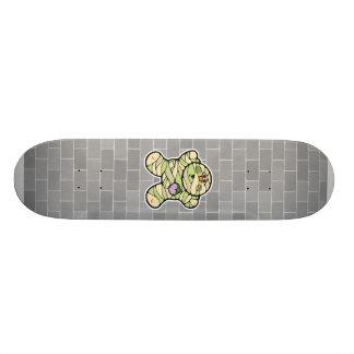 momia linda del bebé skate boards