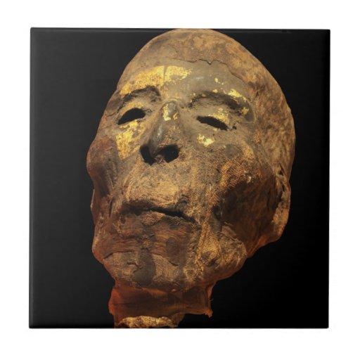 Momia principal masculina humana Mummified Teja Ceramica
