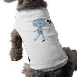 momia que desenreda linda ropa de perros