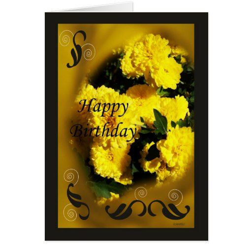 Momias amarillas tarjeta de felicitación