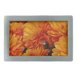 Momias anaranjadas hebilla cinturon rectangular