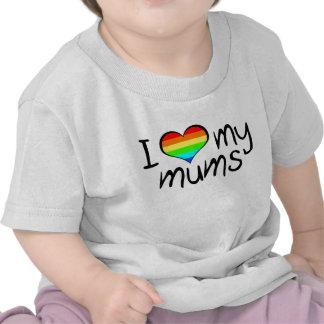 Momias del bebé camiseta