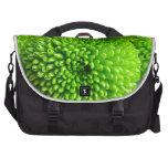 Momias verdes del botón bolsas de ordenador