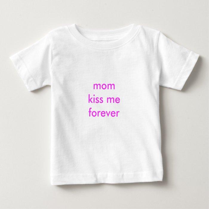 momkiss meforever baby T-Shirt