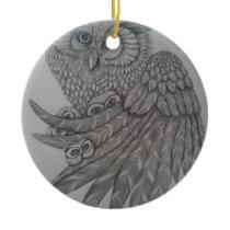 momma2 ceramic ornament