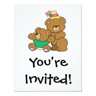 Momma and Baby Boy Bear Card