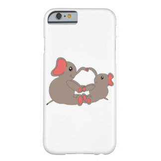 Momma and Baby Elephant Barely There iPhone 6 Case