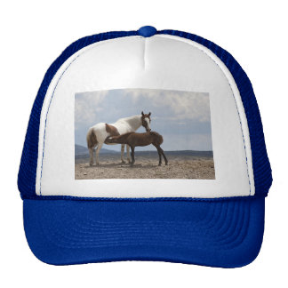 Momma and Baby Mustang Trucker Hat