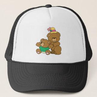 Momma and Boy Bear Trucker Hat