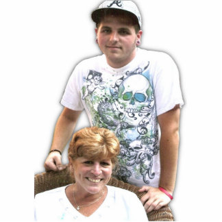 momma and son cutout