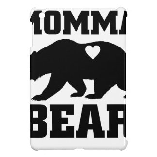 Momma Bear Best Gift Quote for mom shirt iPad Mini Cover
