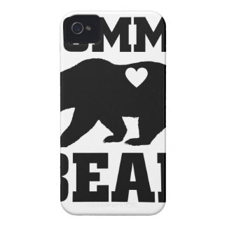 Momma Bear Best Gift Quote for mom shirt iPhone 4 Case