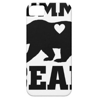 Momma Bear Best Gift Quote for mom shirt iPhone SE/5/5s Case
