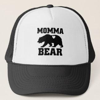 Momma Bear Best Gift Quote for mom shirt Trucker Hat