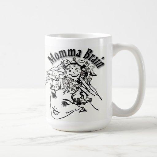 Momma Brain coffee mug