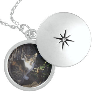 Momma Calico Sterling Silver Necklace