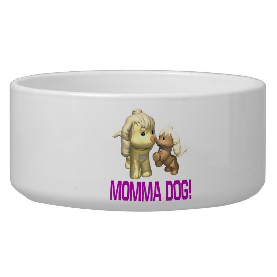 Momma Dog Bowl