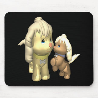Momma Dog Mouse Pad