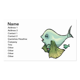 Momma Fish Business Card