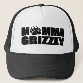 Momma Grizzly Trucker Hat