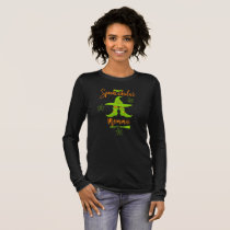 Momma Halloween Funny Spooktacular Mom Witch Hat Long Sleeve T-Shirt