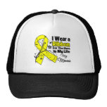 Momma Hero in My Life Sarcoma Awareness Hat
