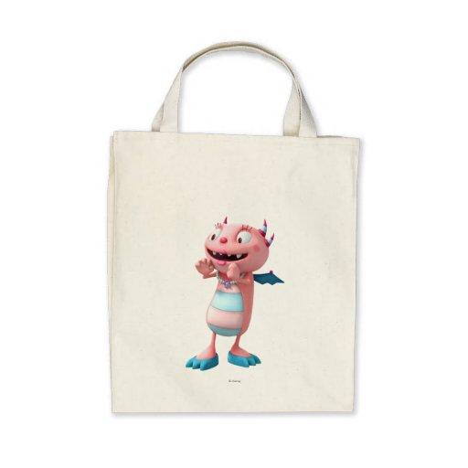 Momma Hugglemonster Canvas Bag