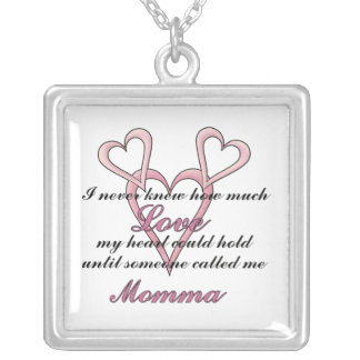 Momma (I Never Knew) Mother's Day Necklace