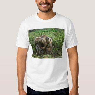 Momma Moose & Calf, A Mother's Love T-shirt