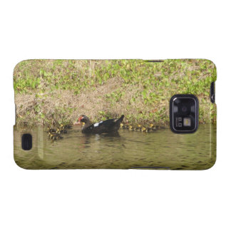 Momma Muscovy and Baby Ducks Samsung Galaxy S2 Case