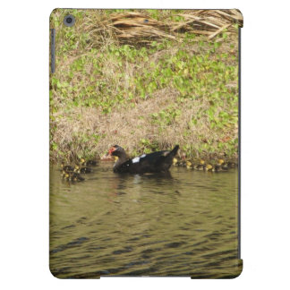 Momma Muscovy and Baby Ducks Cover For iPad Air