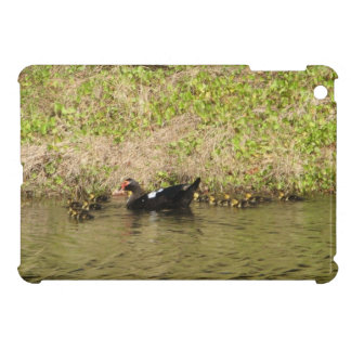 Momma Muscovy and Baby Ducks iPad Mini Cover