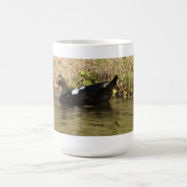 Momma Muscovy and Baby Ducks Mug