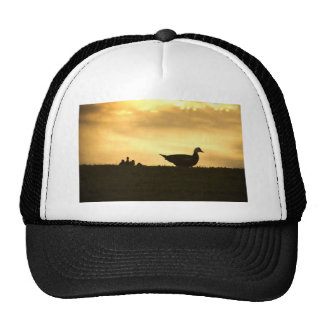 Momma Muscovy Duck and Ducklings at Sunrise Trucker Hat
