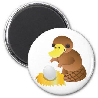 MOMMA platypus 2 Inch Round Magnet