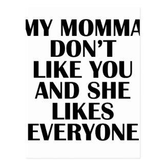 momma postcard