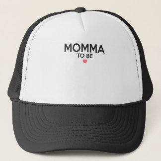 Momma To Be Print Trucker Hat