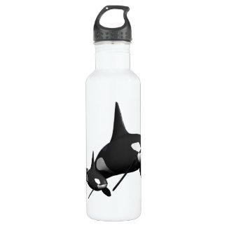 Momma Whale 24oz Water Bottle