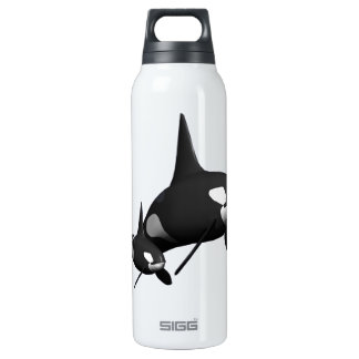 Momma Whale 16 Oz Insulated SIGG Thermos Water Bottle