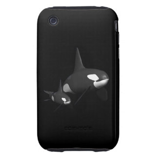 Momma Whale Tough iPhone 3 Case