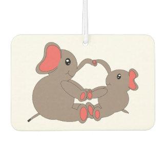 Momma y ambientador de aire del elefante del bebé