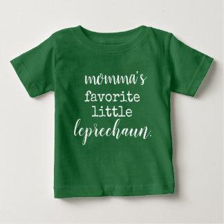 momma's favorite little leprechaun. baby T-Shirt