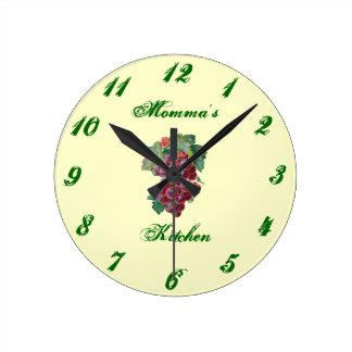 Momma's Kitchen Clock