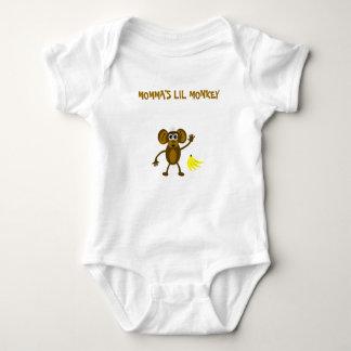 Momma's Lil Monkey Tshirts