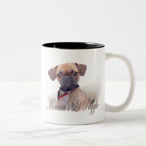 Momma's Lil Puggle mugs