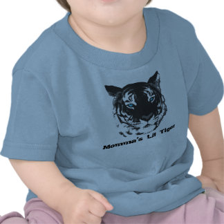 Momma's Lil Tiger Baby Shirt