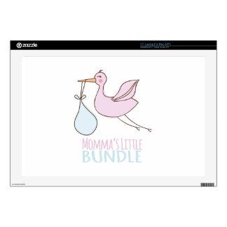 Momma's Little Bundle Laptop Decals