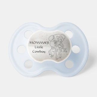 MOMMA'S Little Cowboy (vintage Booginhead Pacifier