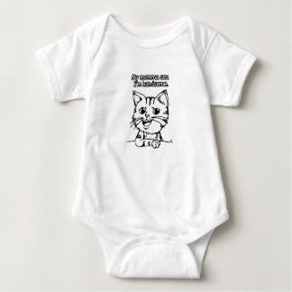 Momma's Little Man (for Newborns to 6 months) Baby Bodysuit