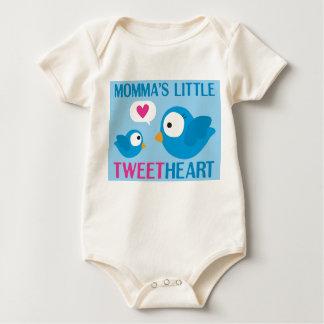momma's little tweetheart baby bodysuit